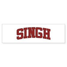SINGH Design Bumper Bumper Sticker