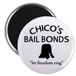 Chico's Bail Bonds Magnet