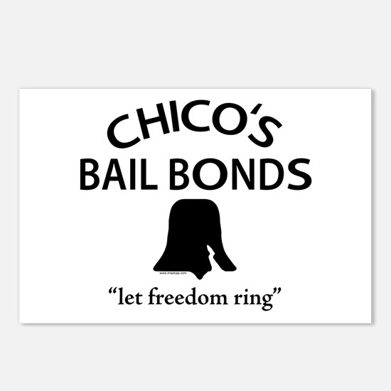 Chico's Bail Bonds Postcards (Package of 8)