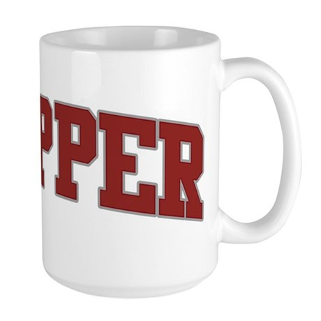 SKIPPER Design Large Mug