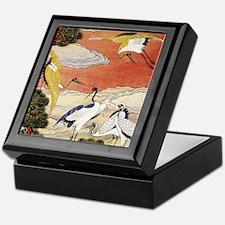 10 Symbols of Longevity Keepsake Box