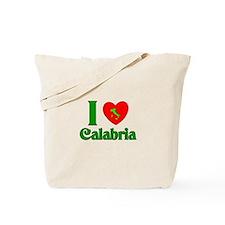 I Love Calabria Tote Bag
