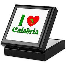 I Love Calabria Keepsake Box
