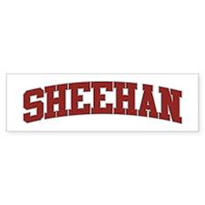 SHEEHAN Design Bumper Bumper Sticker