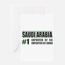 Saudi Arabia --#1 Greeting Card