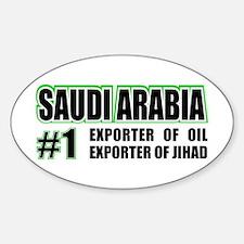 Saudi Arabia --#1 Oval Decal
