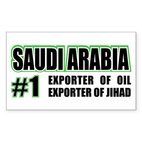 Saudi Arabia --#1 Rectangle Sticker