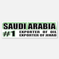 Saudi Arabia --#1 Bumper Bumper Bumper Sticker
