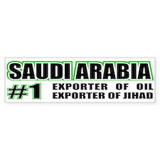 Saudi Arabia --#1 Bumper Bumper Sticker