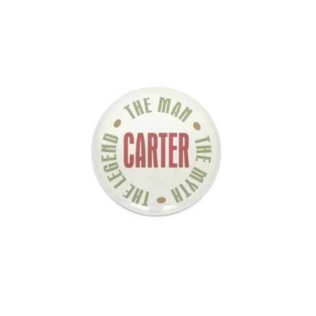 Carter Man Myth Legend Mini Button (100 pack)