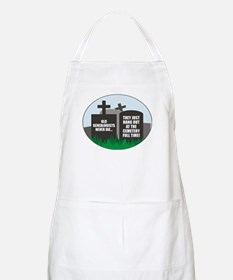 Never Die BBQ Apron