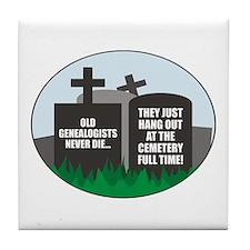 Never Die Tile Coaster
