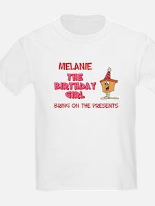 Happy Birthday Melanie T-Shirt