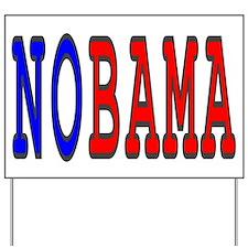 Teletype NOBAMA Yard Sign