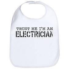 Trust Me I'm An Electrician Bib