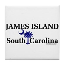 James Island Tile Coaster