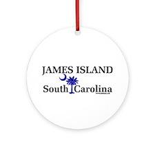 James Island Ornament (Round)
