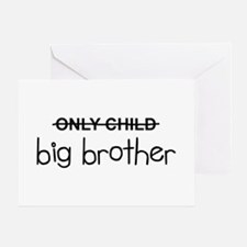 Only Big Brother Greeting Card