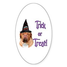 Dogue Trick Oval Decal