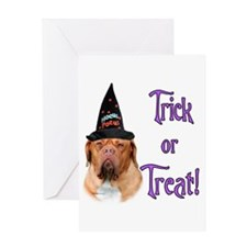 Dogue Trick Greeting Card