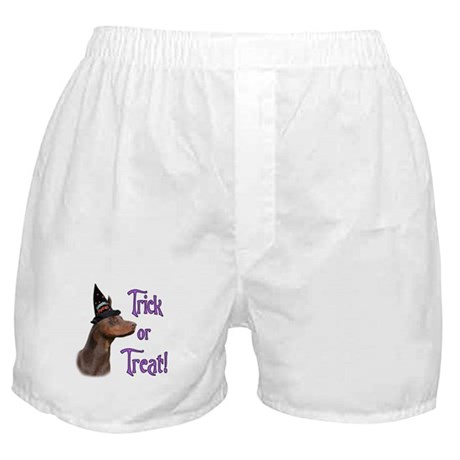 Doberman Trick Boxer Shorts