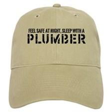 Feel Safe With A Plumber Baseball Cap