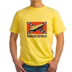 Redneck Airforce Yellow T-Shirt