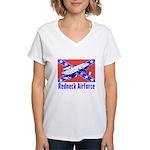 Redneck Airforce Women's V-Neck T-Shirt