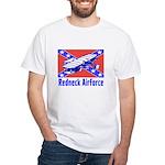 Redneck Airforce White T-Shirt