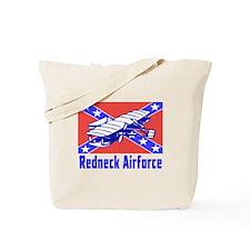 Redneck Airforce Tote Bag