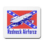 Redneck Airforce Mousepad