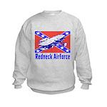 Redneck Airforce Kids Sweatshirt