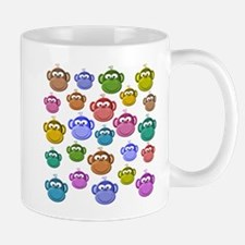 Colored Monkeys Mug