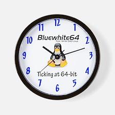 Bluewhite64 Wall Clock