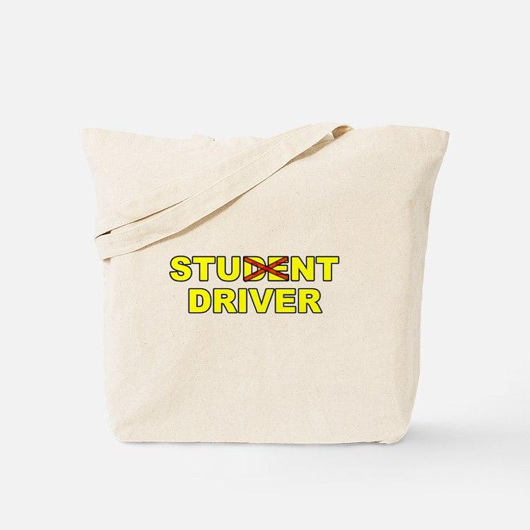 Student Stunt Driver Tote Bag