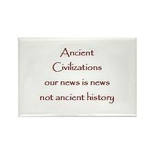 Ancient Civilizations Rectangle Magnet (100 pack)