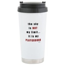 Not My Limit Travel Coffee Mug