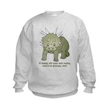 Daddy Did Hair Dinosaur Sweatshirt