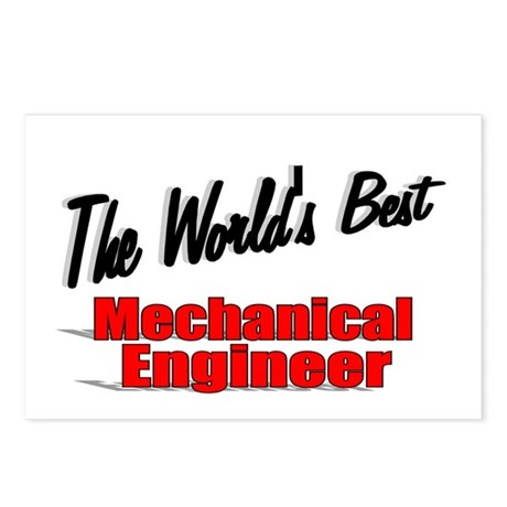 """The World's Best Mechanical Engineer"" Postcards ("