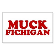 Muck Fichigan Rectangle Decal