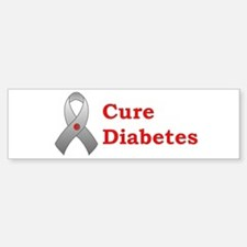 Cure Diabetes Bumper Bumper Stickers