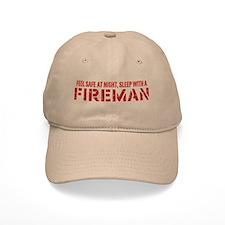 Feel Safe With A Fireman Baseball Cap
