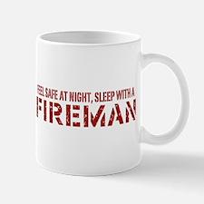 Feel Safe With A Fireman Mug