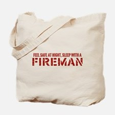 Feel Safe With A Fireman Tote Bag