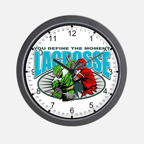 Lacross Moment Wall Clock