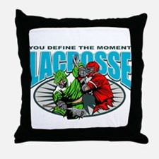 Lacross Moment Throw Pillow