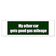 gasmileage Bumper Bumper Sticker