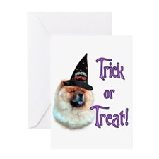 Chow Trick Greeting Card