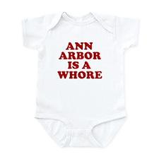Ann Arbor Is A Whore Onesie
