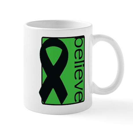Green (Believe) Ribbon Mug